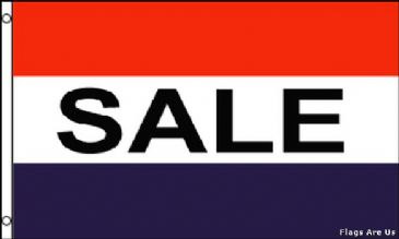Sale  (Black Writing)